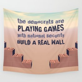 Build A Real Wall Wall Tapestry