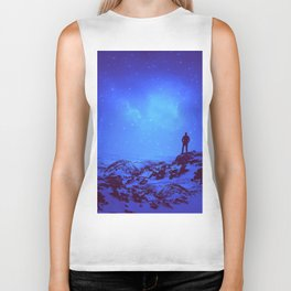 Lost the Moon While Counting Stars III Biker Tank