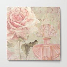 Perfume and Roses I Metal Print