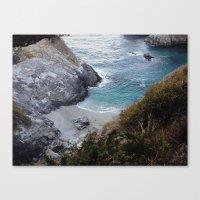 big sur Canvas Prints featuring Big Sur by danotis