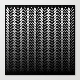 Geometric Peaks Canvas Print