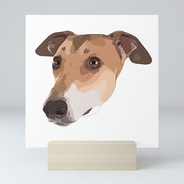 Greyhound Mini Art Print