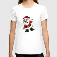 santa T-shirts featuring Santa by David Casciani