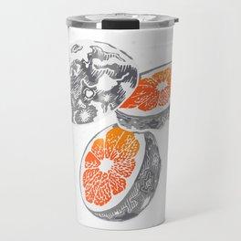 Moon Orange Travel Mug