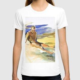 12,000pixel-500dpi - John Singer Sargent - Bather, Florida - Digital Remastered Edition T-shirt
