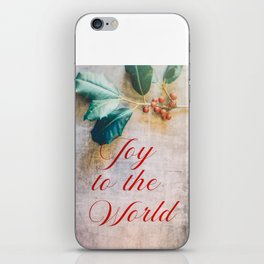 Joy to the World 2 iPhone Skin