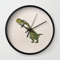 dino Wall Clocks featuring Dino by Mr and Mrs Quirynen