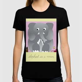 Elephant in a room T-shirt