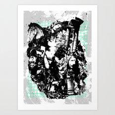Fall of Civilization Art Print