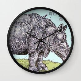 Durerhino Wall Clock