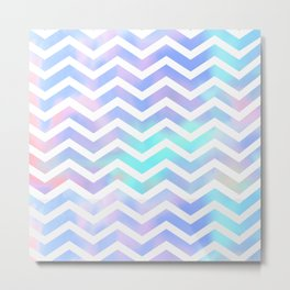 Chevron dreams  Metal Print
