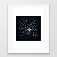 evil Framed Art Prints featuring Evil by GLR67