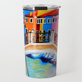 Colors of Venice Italy Travel Mug