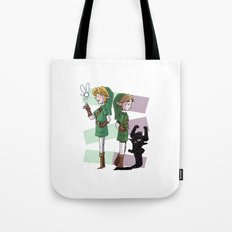 The Fairy and The Imp Tote Bag