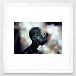 Black people Framed Art Print