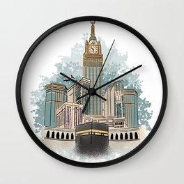 Kaaba Wall Clock