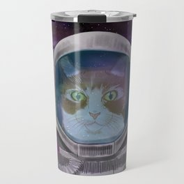 Space cat Travel Mug