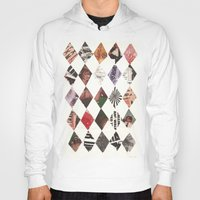 diamonds Hoodies featuring DIAMONDS by Brandon Neher