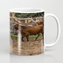 Frolicking Longhorns Coffee Mug