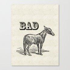 Bad Ass Canvas Print