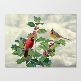 Spade's Cardinals Canvas Print