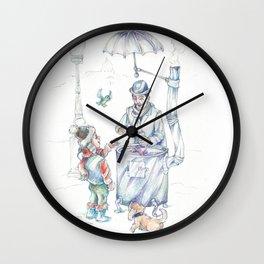 The chesnut-man Wall Clock