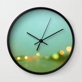 Rainy Days and Mondays Wall Clock