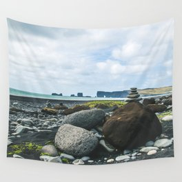 Coastal Stacks Wall Tapestry