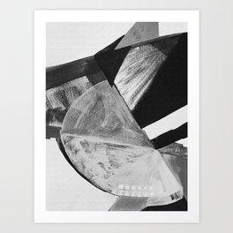 Minimal Abstract Shapes Art Print