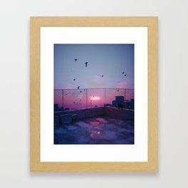 ONLINE #3 Framed Art Print