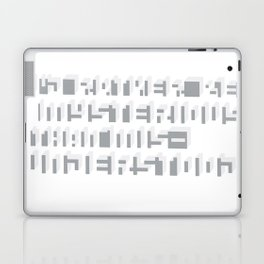 Rather Be Mysterious... Laptop & iPad Skin