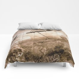 Study for Curvature  Comforters
