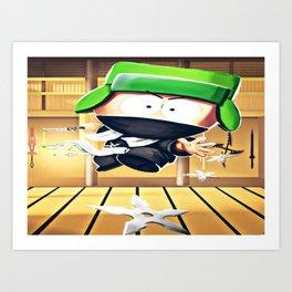 Ninja Kyle Art Print