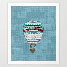 Candy Balloon Art Print