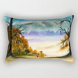 Calvin Art Hobbes Rectangular Pillow