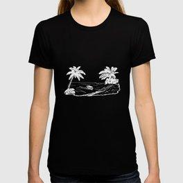 Beach Scene Graphic Mens Soft Vacation Cruise Island Summer Party Tee cruise T-shirt
