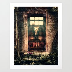 DOOR TO NOWHERE Art Print