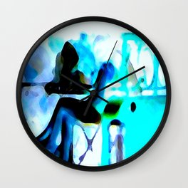 Ghostly Nightclub Wall Clock