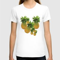 pineapples T-shirts featuring Pineapples by Erika Kaisersot
