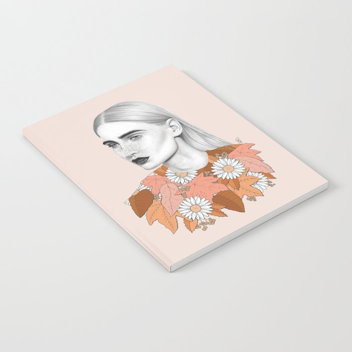 Falling For You notebook by Rebecca Flattley