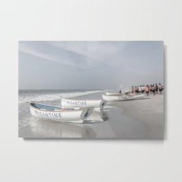 Beach Patrol Brigantine Metal Print