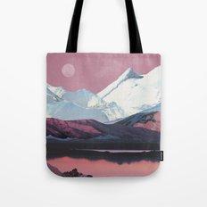 Bruised Landscape Tote Bag