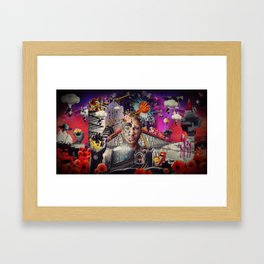 YOU ARE THE MOMENT Framed Art Print