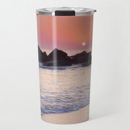 Encendida Beach At Sunset. Sancti Petri. Travel Mug