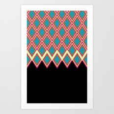 GlamourII Art Print