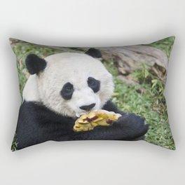 Panda Likes Rectangular Pillow