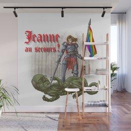 Jeanne au secours Wall Mural