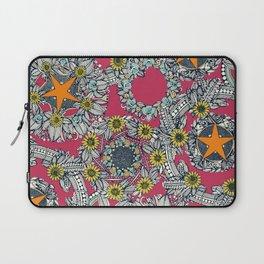 cirque fleur rose papaya star Laptop Sleeve
