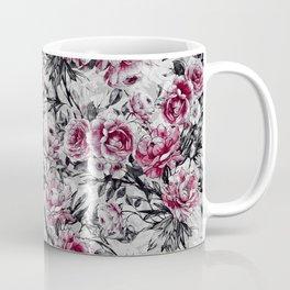 Black Leaves Coffee Mug