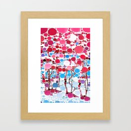 :: Flamingo Hookah :: Framed Art Print